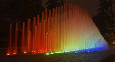 Parque de la Reserva: Circuito Magico del Agua. The largest fountain complex in the world, it was absolutely beautiful!