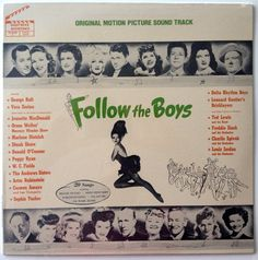 Follow the Boys Original 1944 Motion Picture Sound Track SEALED LP Vinyl Record Album, Hollywood Soundstage - HS 5012