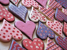 cookies for Valentine's day!