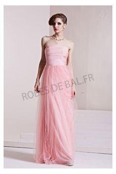 Rose foncé Bustier Organza Robe Demoiselle D'honneur 8863                                                                                                                                                                                 Plus