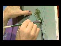 Learn to leaf trees with Jerry Yarnell - YouTube
