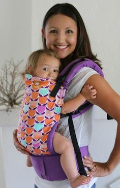 TULA Baby Carriers | Toddler Carriers — Tulips- Tula Ergonomic Baby Carrier. i like the shoulder straps and how far the padding goes on the waist