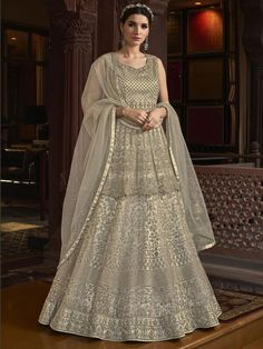 Top 5 Style Of Lehenga Suit For Any Occasion - Inddus.com Lehenga Suit, Lehenga Style, Abaya Style, Lehenga Blouse, Lehenga Choli, Net Gowns, Ball Gowns, Churidar, Salwar Kameez