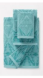 Pecos Sculpted Bath Towel Set