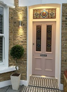 Browse Period Doors - From Period Home Style Front Doors Category Front Door Steps, Front Door Porch, House Front Door, Up House, House Entrance, Cottage Style Front Doors, Best Front Doors, Porch Doors, House Wall