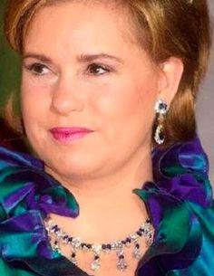 Tiara Mania: Grand Duchess Joséphine Charlotte of Luxembourg's Sapphire Necklace Tiara