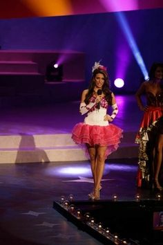 Miss Greene County, Sarah Stokely,  introduces herself Wednesday, night one, of the Miss Tennessee Scholarship pageant at the Carl Perkins Civic Center in Jackson.
