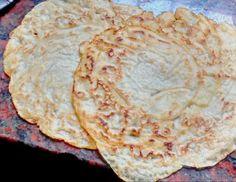 Masa básica de panqueques, (crépes) veganos sin huevo sin leche