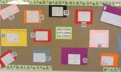 MSEDTECHIE: Using QR Codes! This would be cool to use as an interactive way for new parents and students to tour the classroom during open house.  Give each family a student iPad and have them learn about the classroom.  This years students could do the recordings for next years class.