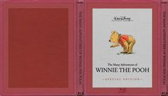 The Many Adventures of Winnie the Pooh - Alternate Disney Blu-Ray Slipcover