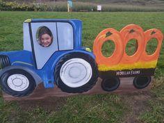 Pumpkins and a Tractor Pumpkins, Tractors, Pumpkin, Squash