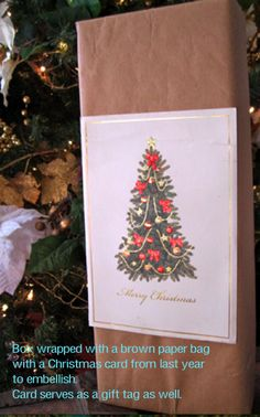 lots of creative, repurposed, green and festive holiday gift wrapping ideas