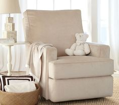 Electronic Reclining Chair,washed Grainsack Flax