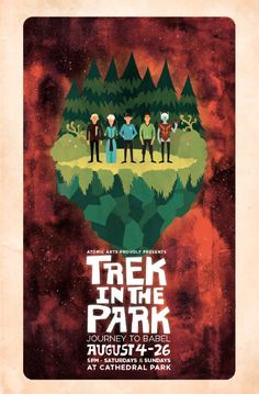 2013 DATES FOR TREK IN THE PARK: THE TROUBLE WITH TRIBBLES!  AUGUST 3-4, 10-11, 17-18, 24-25   That's every Saturday and Sunday this August at Cathedral Park in St. Johns!