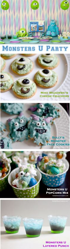 Monsters U Party!  Perfect for a birthday or just a casual Monsters U viewing party!   #shop #ScareEdu #cbias