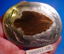 AWESOME Old Bar J ARROWHEAD Hand Engvd Silver Bow Hunter Belt Buckle MAKE OFFER $195.00 or Best Offer Free shipping Item image