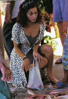 ☆ Christy Turlington | Photography by Arthur Elgort | For Vogue Magazine US | April 1993 ☆