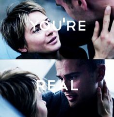 Image about love in Sheo/Fourtris by Paola on We Heart It Divergent Fandom, Divergent Trilogy, Divergent Insurgent Allegiant, Tris And Four, Im Worth It, Theo James, Catching Fire, Hunger Games, Good Movies
