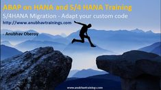 We will help you to learn SAP ABAP on HANA and technical concepts in a simple manner. Very effective training without any copy paste of code. All the HANA concepts including CDS, AMDP, SQL Scripting, UI annotations, Smart filter apps are covered. Visual Programming Language, Basic Programming, Sap Netweaver, Platform As A Service, Data Modeling, Database Design, Online Training Courses, Business Intelligence, Frases