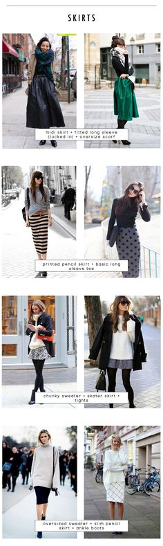 18 outfit recipes for fall - skirts | kinks are the new pink