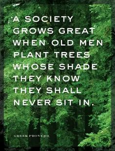 So True — never let anyone stop you from planting.