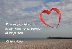 Hugo                                                       …                                                                                                                                                                                 Plus Best Quotes, Love Quotes, Goodbye My Love, Cute Captions, Sympathy Quotes, French Quotes, Victor Hugo, Humor, Peace And Love
