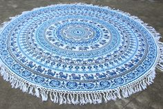 MANDALA Elephant Tapestries, Beach tapestry