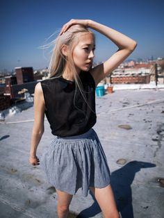 Thanks to an anonymous who reminded me this is Soo Joo and not Daul Kim. Oopsies but first glance I really assumed she was Daul haha.