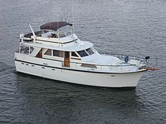 53' Hatteras ~ Our retirement home.