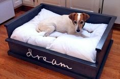 Pallet Dog Bed: Fun Filled Use of Pallet Woods | Wooden Pallet Furniture