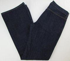 Women Rare Diesel Daze Jeans Flare Leg Mid Rise Button Fly Dark Wash sz 31 X 32 #DIESEL #Flare