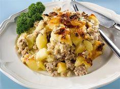 Pehtoorin perunaloora Potato Casserole, Baked Potato, Mashed Potatoes, Macaroni And Cheese, Oatmeal, Food And Drink, Dinner, Baking, Breakfast