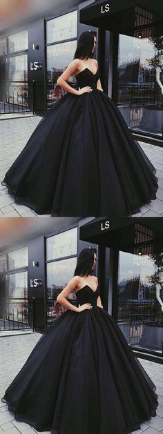 black prom dress,cheap prom dress,2018 prom dress,dillards prom dresses,long prom dresses,simple prom dresses,ball gown prom dresses #demidress #promdress #fashion #blackdress (matric dance dresses simple)