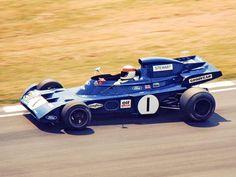 1972 GP Wielkiej Brytanii (Jackie Stewart) Tyrrell 005 - Ford