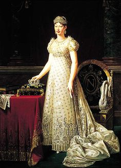 Marie Louise of Austria was the second love of Napoleon's life, but was quick to leave him when things became economically unstable