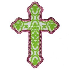 Cross Applique - 3 Sizes! | Easter | Machine Embroidery Designs | SWAKembroidery.com Applique Time