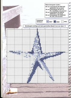 Cross Stitch Sea, Cross Stitch Charts, Cross Stitch Patterns, Antique Glass Bottles, White Crosses, Beach Crafts, Stitch 2, Ocean Life, Nautical Theme