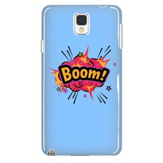 BOOM! Red Cloud Galaxy Note 4 cell phone case (Sky Blue)