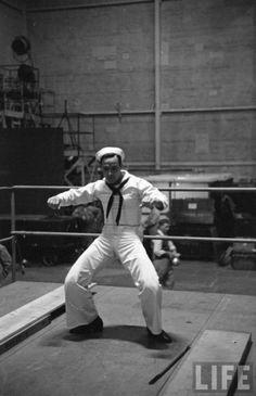 -viaalways-fair-weather:    Gene KellyBehind the Scenes - On the Town (1949)
