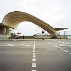 archivemodernarchitecture:  Train station, Jurmala, Latvia,...