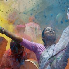 India - Holi $FREEDOM FROM STRICT TRADITION UNDER THE RULES OF THE SAME TRADITION$