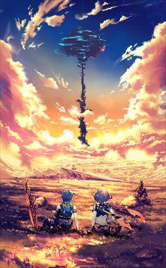 Video Game Art, Video Games, Monolith Soft, Xeno Series, Everyday Life With Monsters, Nintendo World, Xenoblade Chronicles 2, Comic Manga, Neon Genesis Evangelion