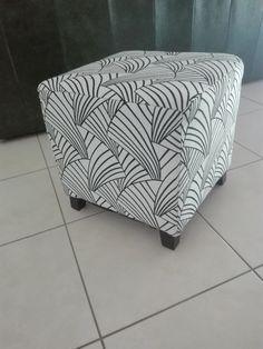 Pouf Ikea customisé