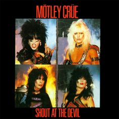 Day 19: A picture of your favorite album. This was a tough one with so many to choose from so I went with a classic. Motley Crue Shout at the Devil.