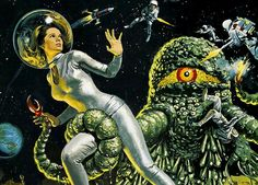 1969... The Green Slime (detail) by x-ray delta one, via Flickr