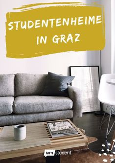 Studentenheime in Graz: Alle Studiheime im Überblick! Bunt, Couch, Furniture, Home Decor, Graz, Student Home, Tips, Settee, Decoration Home