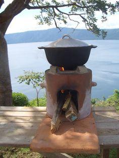 Fotos de fogonesde le a carb n y cisco hornos y - Cocinas rusticas de lena ...