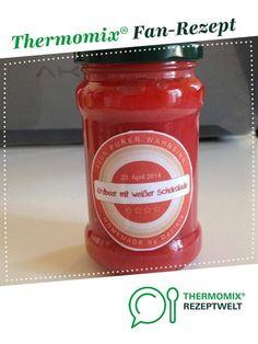 Erdbeermarmelade mit weißer Schokolade von Nella27. Ein Thermomix ® Rezept aus der Kategorie Saucen/Dips/Brotaufstriche auf www.rezeptwelt.de, der Thermomix ® Community.