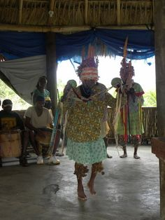 Dancers at YUBU - The Garifuna Experience on Roatan