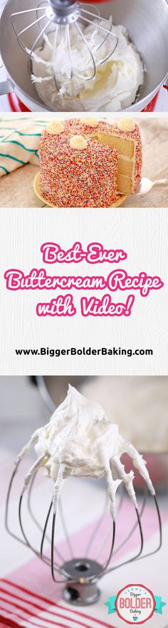 Vanilla Buttercream Frosting Recipe - The best I have ever tried. Easy to make and it will always work out. via @gemstafford